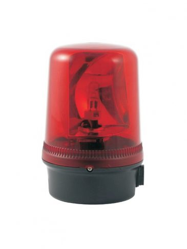 Obrotowa lampa ostrzegawcza z lustrem serii: B300RTH