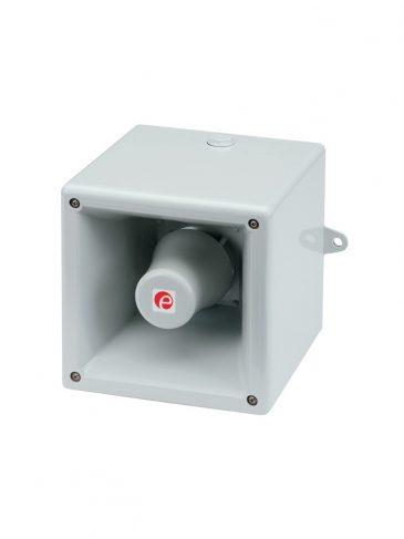Bardzo głośna, elektroniczna syrena silnikowa serii: HA121, 121dB, IP66