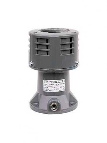 Głośna syrena silnikowa serii: S0, 112dB, IP22/IP44