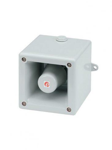 Głośna, elektroniczna syrena silnikowa serii: HA105N, 112dB, IP66