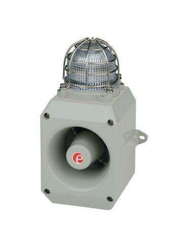 Solidny sygnalizator świetlno-dźwiękowy LED serii: DL105H, 112dB