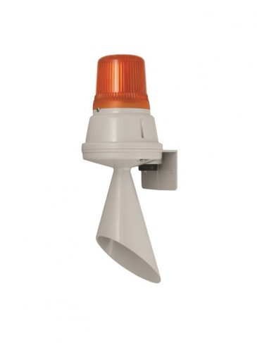Sygnalizator świetlno-dźwiękowy na żarówkę serii: H100TF, 100dB