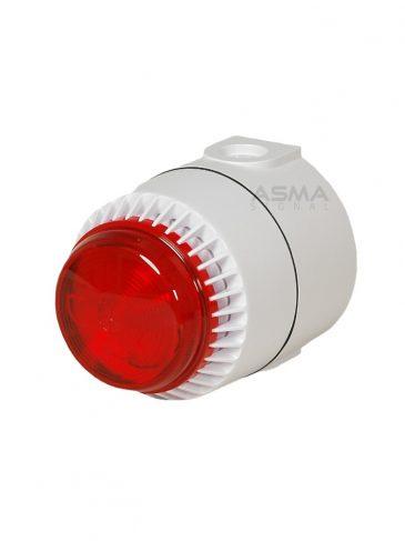 Uniwersalny sygnalizator świetlno-dźwiękowy, ksenonowy serii: FLS, 110dB
