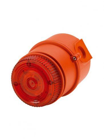 Sygnalizator świetlno-dźwiękowy LED w wyk. iskrobezpiecznym serii: IS-mC1, 100dB