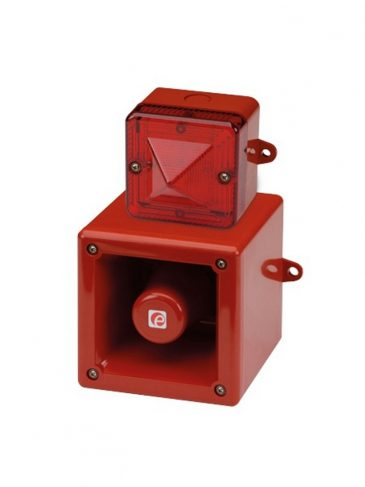 Sygnalizator świetlno-dźwiękowy LED w wyk. iskrobezpiecznym serii: IS-A105N/IS-L101L