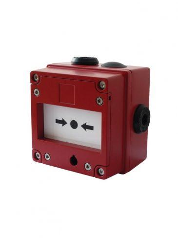 Przycisk iskrobezpieczny ze zbijalną szybką serii: IS-CP4A-BG / IS-CP4B-BG