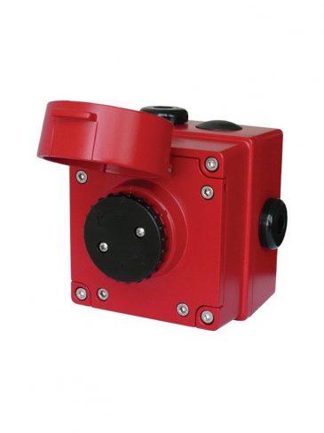 Przycisk iskrobezpieczny z klapką ochronną serii: IS-CP4A-PB / IS-CP4B-PB