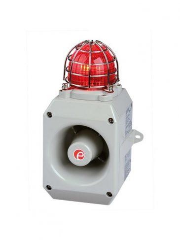 D2xC1X10 Kombinowany, świetlno-dźwiękowy sygnalizator ksenonowy, 116dB