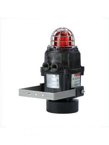 E2xC1X05R Kombinowany, świetlno-dźwiękowy sygnalizator ksenonowy, 114dB