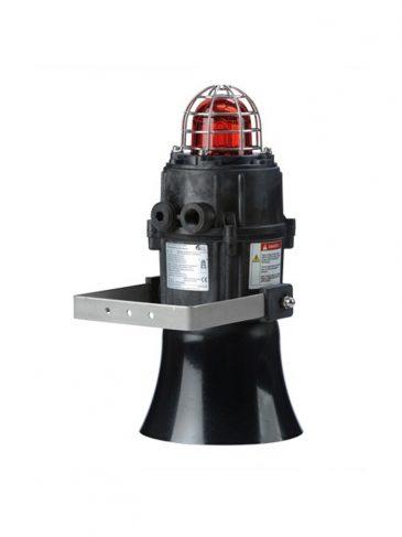 E2xC1X05F Kombinowany, Świetlno-dźwiękowy sygnalizator ksenonowy, 116dB