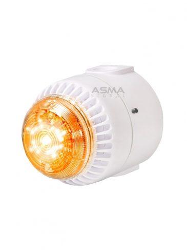 Uniwersalny sygnalizator świetlno-dźwiękowy LED serii: POS, 110dB