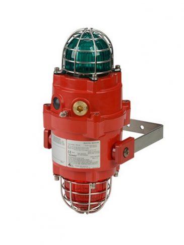 BExCBGL2-L2 Multifunkcyjna, podwójna lampa LED na wysięgniku