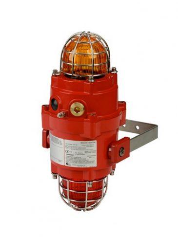 BExCBG05-05 Podwójna błyskająca lampa ksenonowa na wysięgniku