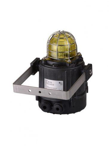 Multifunkcyjna lampa LED w wersji Ex serii: E2xBL2, IP66