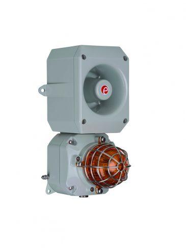 D2xC2LD2 Kombinowany, świetlno-dźwiękowy sygnalizator LED, 116dB