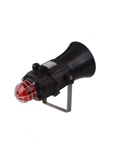E2xC1LD2F Kombinowany, świetlno-dźwiękowy sygnalizator LED, 116dB