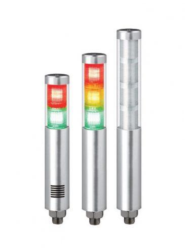 Kompaktowa kolumna sygnalizacyjna LED, ∅45mm, serii: STA45SLM