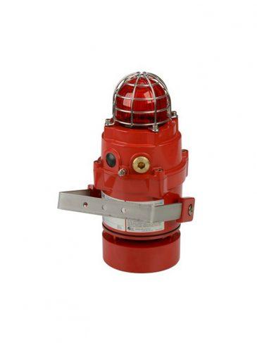 BExCS110-05DPR Kombinowany, świetlno-dźwiękowy sygnalizator ksenonowy, 115dB