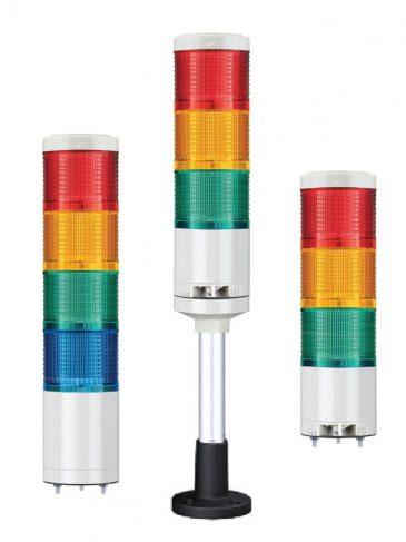 Kolumna sygnalizacyjne LED, ∅70mm, serii: QTG70
