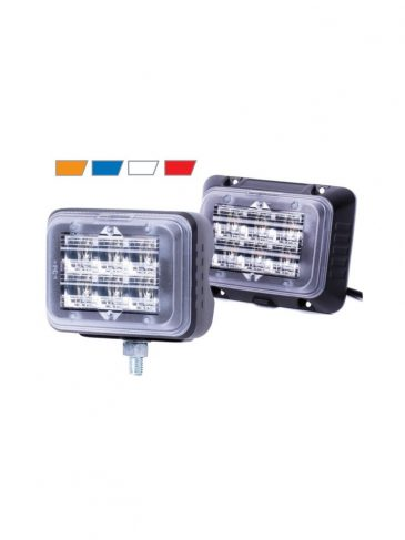 Jasna, kierunkowa lampa błyskająca LED serii: SecuriLED